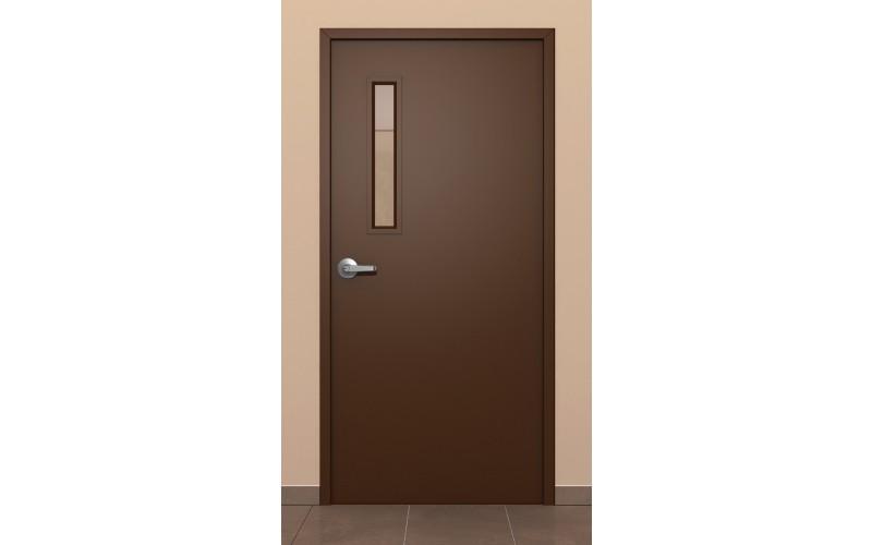 Puertas met licas de acceso for Puertas metalicas para interiores