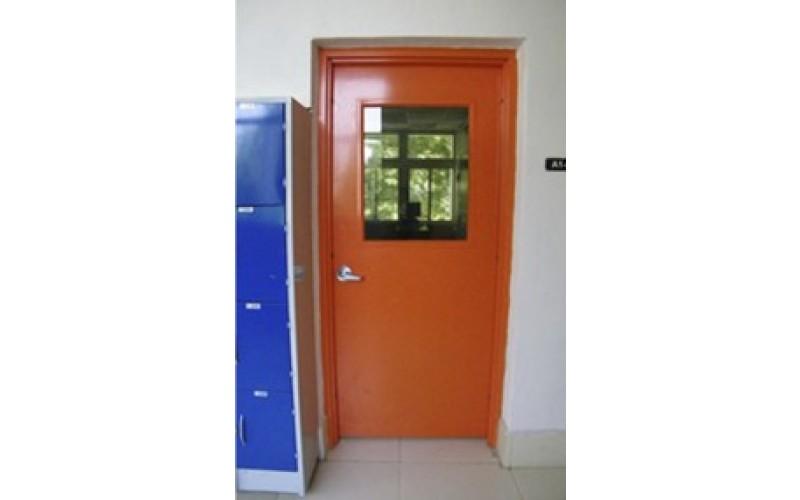 Puertas met licas de acceso for Puertas metalicas